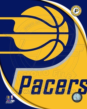 Indiana Pacers Team Logo Sports Photo (8 x 10)