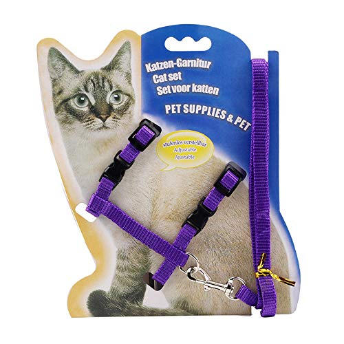 HHXX9 Pet Chest Strap Cat Walk Cat Rope Slip Cat Rope Pet Chest Strap Cat Chain Cat - Chain Catwalk