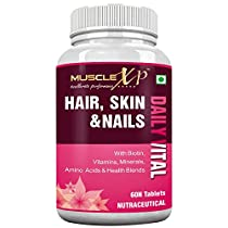 MuscleXP Biotin Hair Skin Nails Complete MultiVitamin With