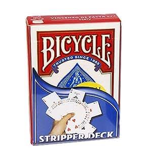Bicycle Stripper Deck, Rider lanzando 808, póquer Size ...
