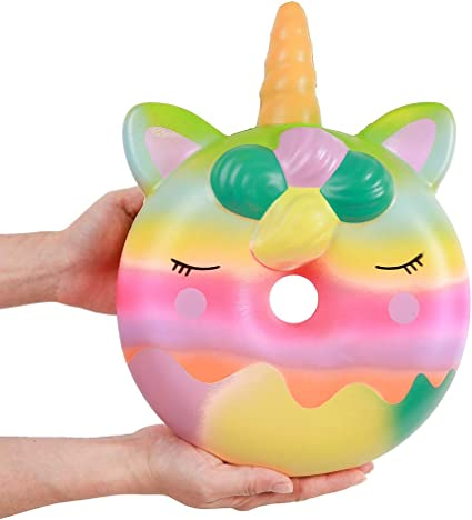 Justice Scented Large Squishy Stickers Unicorn Frappe Panda Ice Cream Donut NEW