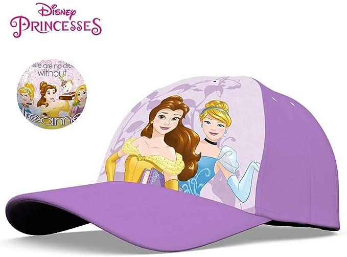 Princesas Disney - Gorras para niños (Ajustable, 3/9 años), Talla ...