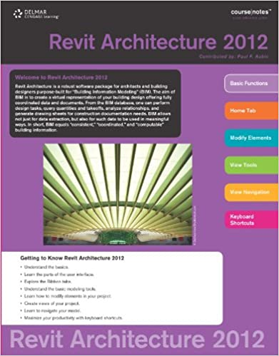 Revit 2012 Coursenotes for Aubin's the Aubin Academy Master Series: Revit Architecture 2012