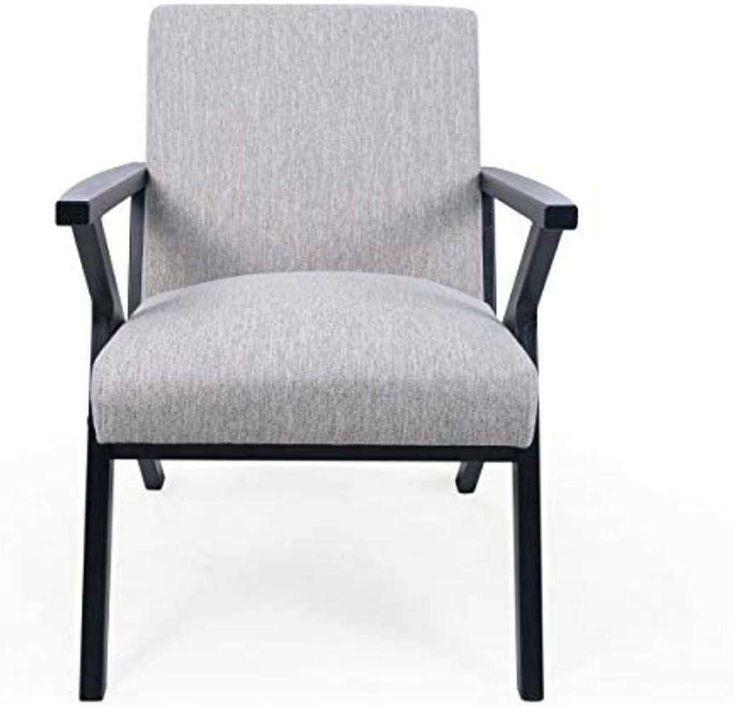 Christopher Knight Home Andrew Club Chair, Light Gray