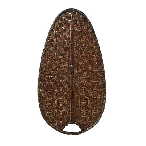 Fanimation BMD4A Brewmaster Blade Narrow Oval Bamboo, 22-Inch, Antique