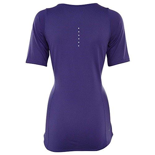 Relay T Ss iris Femme Cl W Foncé Violet shirt Nk Nike Znl À Manches Courtes SFCcnW