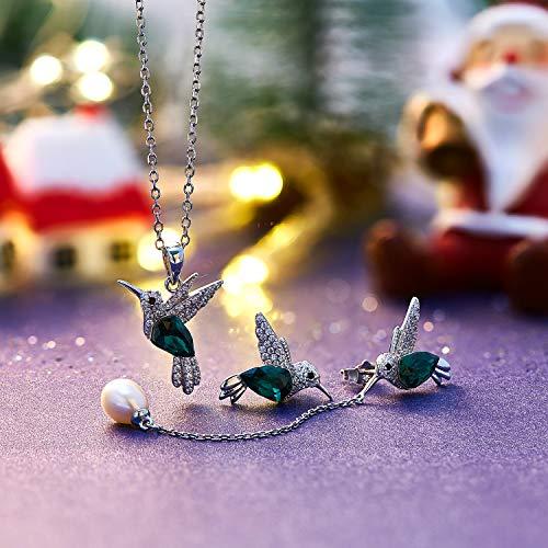 fe687eb38f614 Jewellery Sets - CDE Hummingbird Jewelry Set for Women 925 Sterling ...