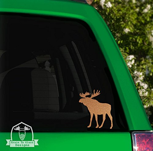 Moose Vinyl Car Decal - 5