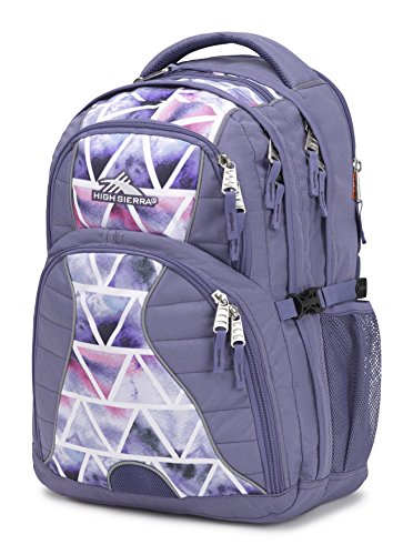 High Sierra Swerve Laptop Backpack, Purple Smoke/Dreamscape