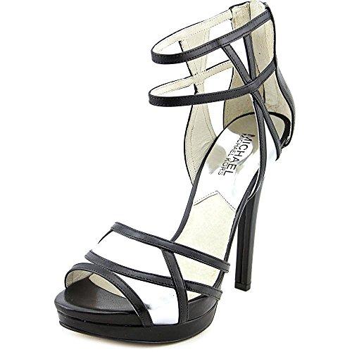 Michael Kors Women's Jaida Back Zip Platform Sandals, Black, Size 8.0