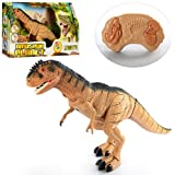 Dinosaur Walking Toy Remote Control Tyrannosaurus Rex RC T Rex Head Shakes , Lights & Sounds Christmas gift