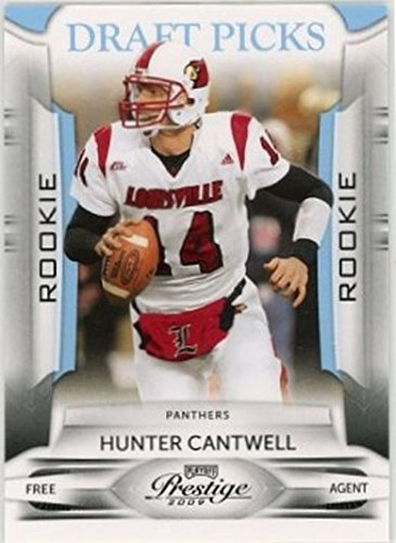 2009 Playoff Prestige Draft Picks Light Blue #143 Hunter Cantwell NM-MT /999 Panthers