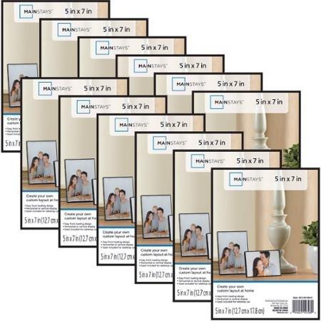 Format Set - Mainstays 5x7 Format Picture Frame, Set of 12