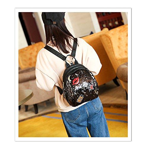 dos au porté Noir pour Noir Sac à main JUND femme Noir ICqxXSwq