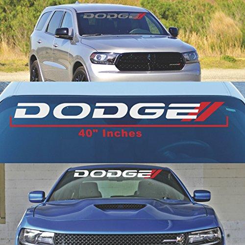 Dodge CHARGER Windshield Decal Dodge RAM Sticker MOPAR Vehicles RT Trucks 1500 2500