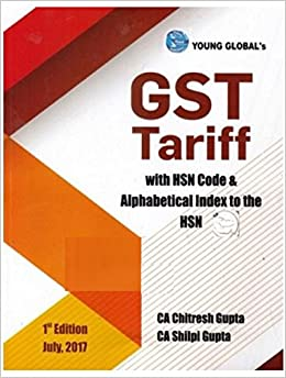 Amazon In Buy Gst Tariff With Hsn Code Book Online At Low Prices In