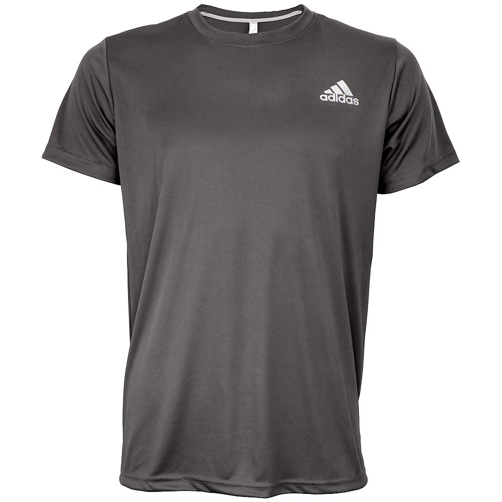 adidas Men's Cool Grey Crew Neck T-Shirt Size Small
