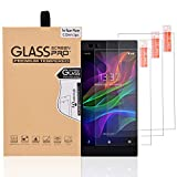 Abacus24-7 Razer Phone Screen Protector [Tempered Glass, 9H, 0.33mm] 3 Pack