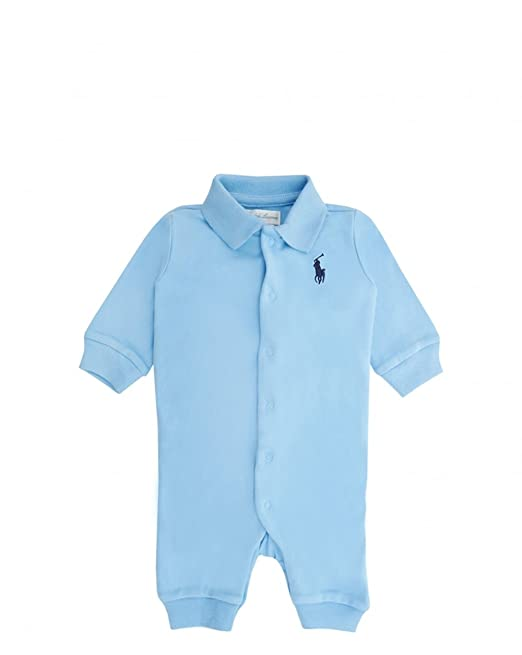 Ralph Lauren - Mono - para bebé niño azul azul 3 Meses: Amazon.es ...