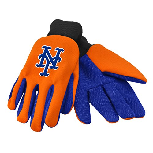 New York Mets Official MLB One Size Sport Utility Work Gloves by Forever Collectibles 853864