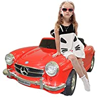 NEW RED MERCEDES BENZ 300SL AMG RC Electric Toy Kids Baby Ride on Car Enjoy Fun