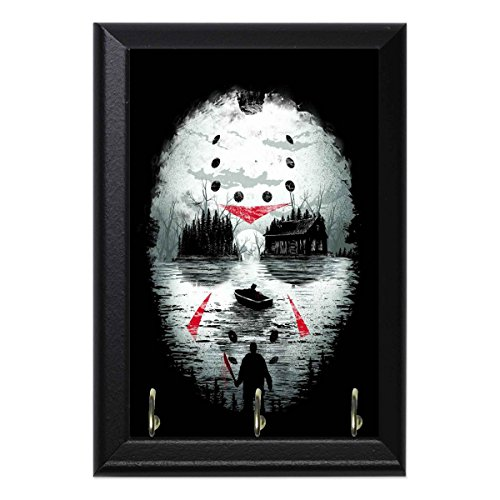Jason Crystal Lake Decorative Wall Plaque Key Leash Hook Holder Hanger 8