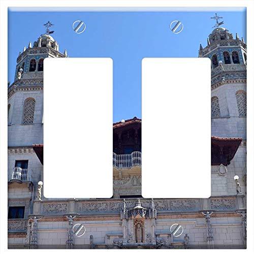 Switch Plate Double Rocker/GFCI - Hearst Castle Castle San Simeon ()