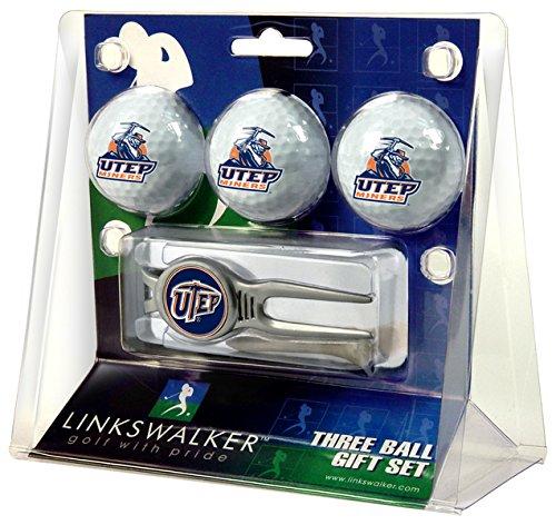 - NCAA Texas El Paso Miners - Kool Tool 3 Ball Gift Pack