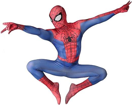 AKCHIUY Disfraz Spiderman Niño, Poderes De Superhéroe Halloween ...