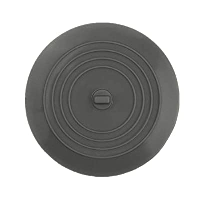 Jeeke Kitchen Sink Strainer Stopper Shower Drain Covers Hair Catcher Hair Stopper Flat Cover (Gray, Diameter: 6 inches) : Sports & Outdoors