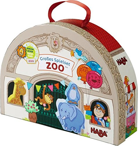 HABA At the Zoo Large Portable Take Along
