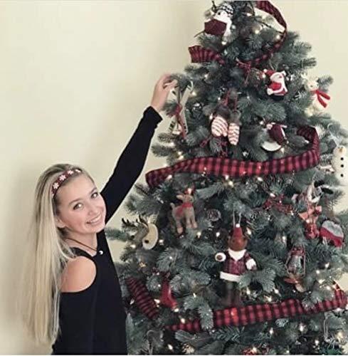 Non-Slip Velvet-Lined Hairband Christmas Trees BEACHGIRL Bands Womens /& Girl Headband