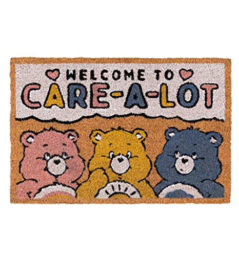 TruffleShuffle Care Bears Welcome to Care a Lot Door Mat