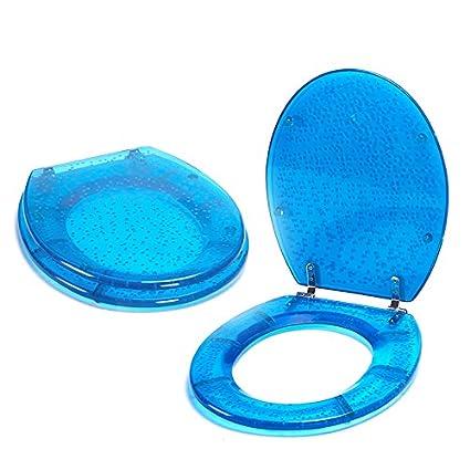 Prime Toilet Seat Toilet Lid Bubbles Toilet Seat Polyresin Blue Beatyapartments Chair Design Images Beatyapartmentscom