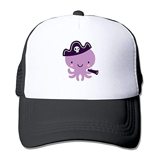 Image Unavailable. Image not available for. Color  Purple Octopus Mesh Baseball  Cap ... 4df7db78a95e