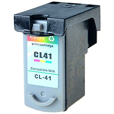 GREENCYCLE CL41 CL-41 Tri-color Ink Cartridge Compatible with Canon FAX JX200 PIXMA iP1600 iP1800 MP180 MP450 MX310 Printer