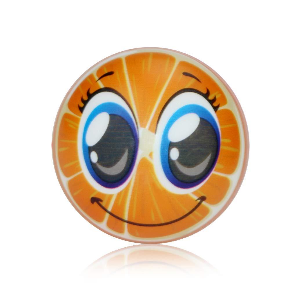 Amazon.com: Mclochy - Pelota de estrés de esmoji de fruta de ...