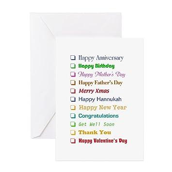 Amazon Cafepress Generic Greeting Cards Greeting Card