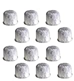 12 Replacement Charcoal Water Filters for Farberware 5-Cup Programmable Coffee Maker Part 103743-F By NISPIRA