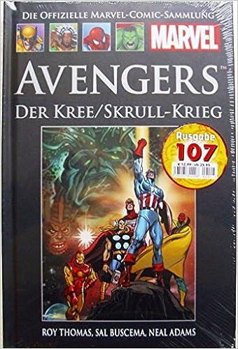 Die Offizielle Marvel Comic Sammlung Classic Xx Avengers Der Kree