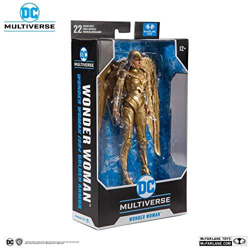 McFarlane Toys DC Multiverse Wonder Woman Gold Armor: Wonder Woman 1984 Action Figure