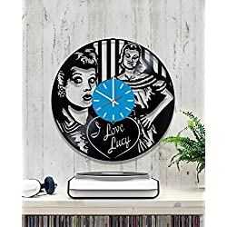 Vinyl Clock I Love Lucy Wall Clock Wall Record Clock/Lp Clock/Kitchen Wall Clock/Wall Vinyl Clock