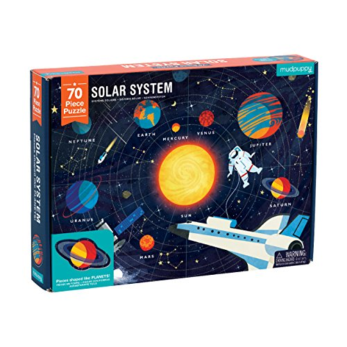 Mudpuppy Solar System Puzzle (70 Piece) by Mudpuppy (Image #3)