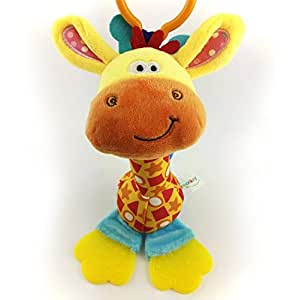 Baby Toys Mobile Giraffe Infant Plush Bed Wind Chimes Rattles Bell Toy Stroller for Newborn