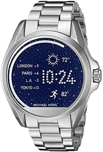 Michael Kors Access Touch Screen Stainless Steel Bradshaw Smartwatch MKT5012