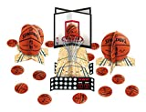 Sports and Tailgating NBA Party Spalding Basketball Table Decorating Kit, Paper