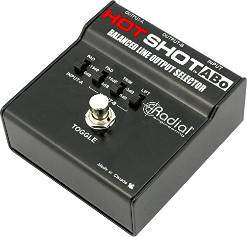 Radial Engineering HotShot ABO Line Output Selector by Radial Engineering