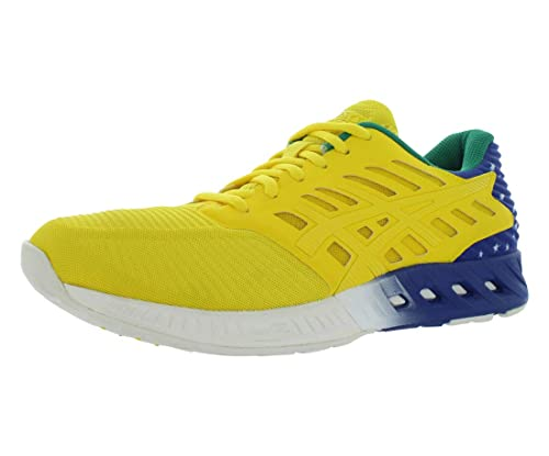 43fb6d086f5c ASICS Men s Fuzex Country Pack Running Shoe Sun Blue Green 9.5 D(M) US  Buy  Online at Low Prices in India - Amazon.in