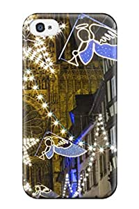 Sanp On Case Cover Protector For Iphone 4/4s (christmas Market At Strasbourg Cathedral)