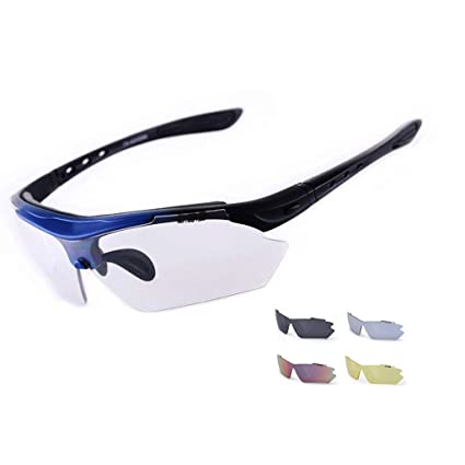 GUO XINFEN Gafas tácticas Especiales al Aire Libre Espejo Transparente polarizado Gafas de Pescar HD Look